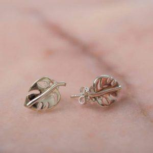 Earstud-Earring-Alisa-925-Sterling-Silver-Front-Laura-Design