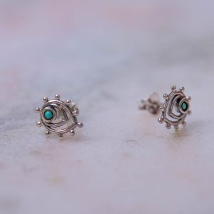 Earstud-Liona-925-Sterling-silver-small-Laura-Design