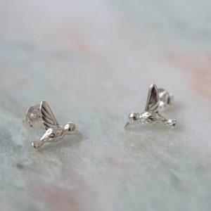 Earstud-Bird-925-Sterling-Silver-Close-Laura-Design