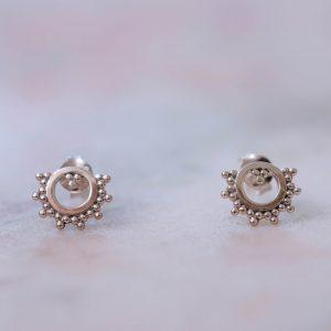 Earstud-Sienna-925-Sterling-Silver-middle-Laura Design