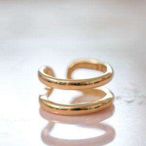 Ring-Bo-925-Sterling-Silver-18kgold-plated-Leftside-Laura-Design