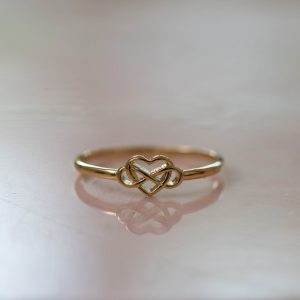 Ring-Infinity-925-Sterling-Silver-18kgold-plated-Front-Laura-Design
